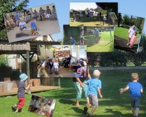 Sommercafe Großeltern 2014